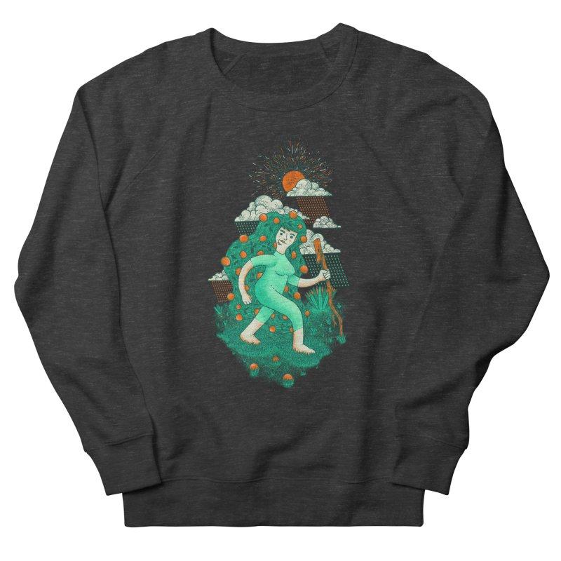 Orange Rain Women's Sweatshirt by chamuko's Artist Shop