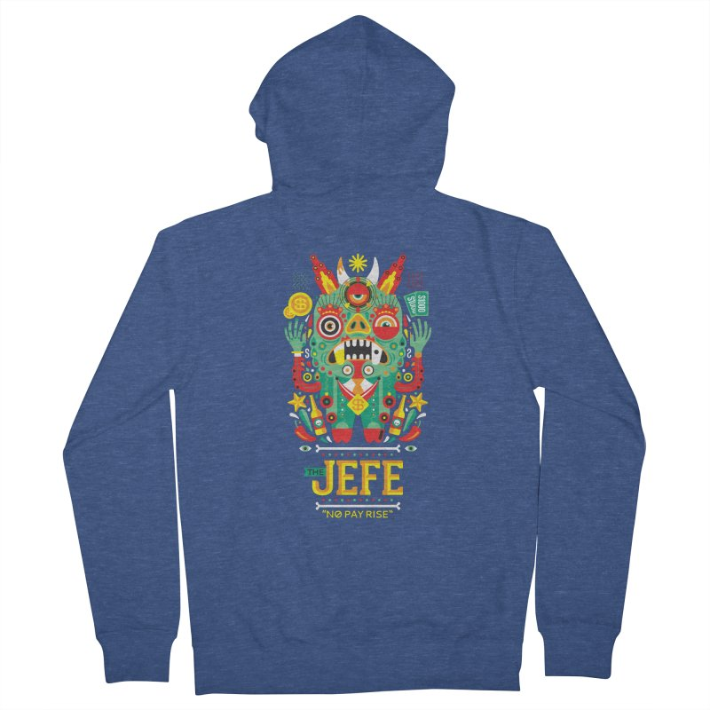 The Jefe Women's Zip-Up Hoody by chamuko's Artist Shop