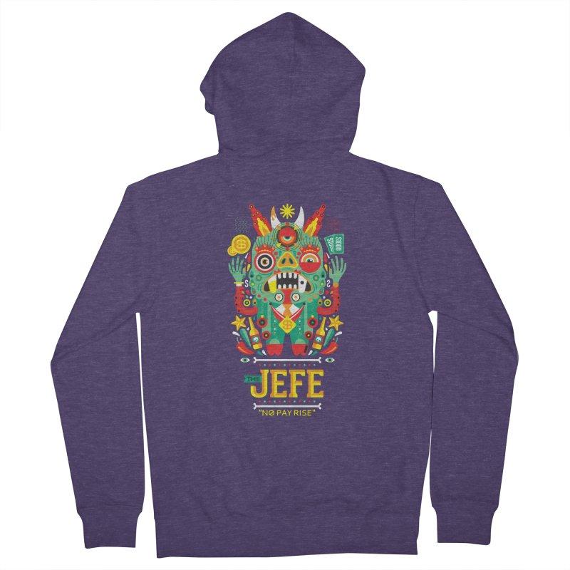 The Jefe Men's Zip-Up Hoody by chamuko's Artist Shop