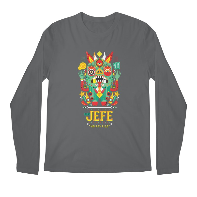 The Jefe Men's Longsleeve T-Shirt by chamuko's Artist Shop