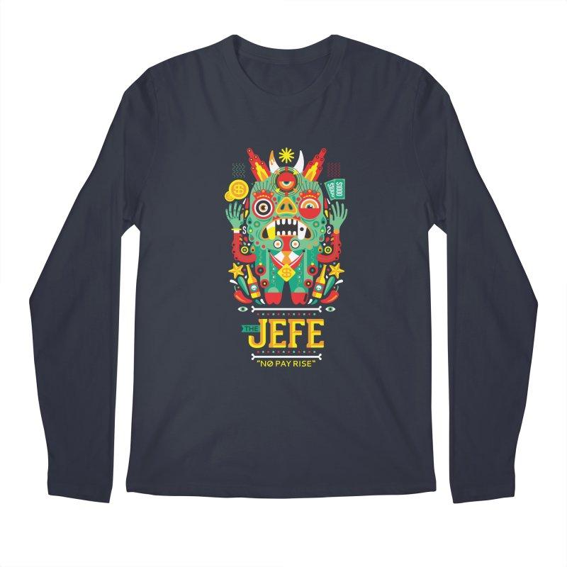 The Jefe Men's Longsleeve T-Shirt by chamuko's Artist Shop