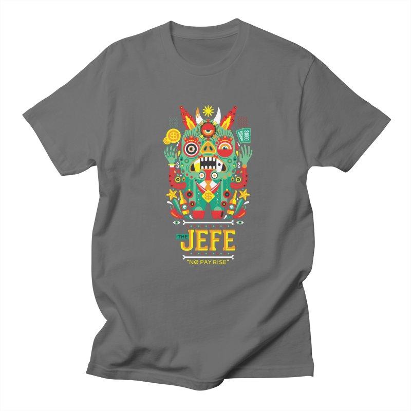 The Jefe Men's T-shirt by chamuko's Artist Shop