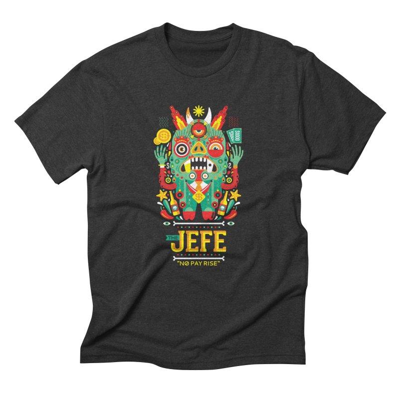 The Jefe Men's Triblend T-shirt by chamuko's Artist Shop