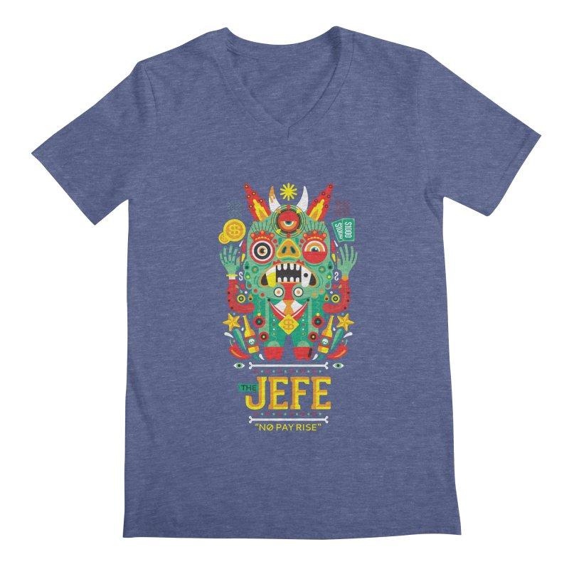 The Jefe Men's V-Neck by chamuko's Artist Shop