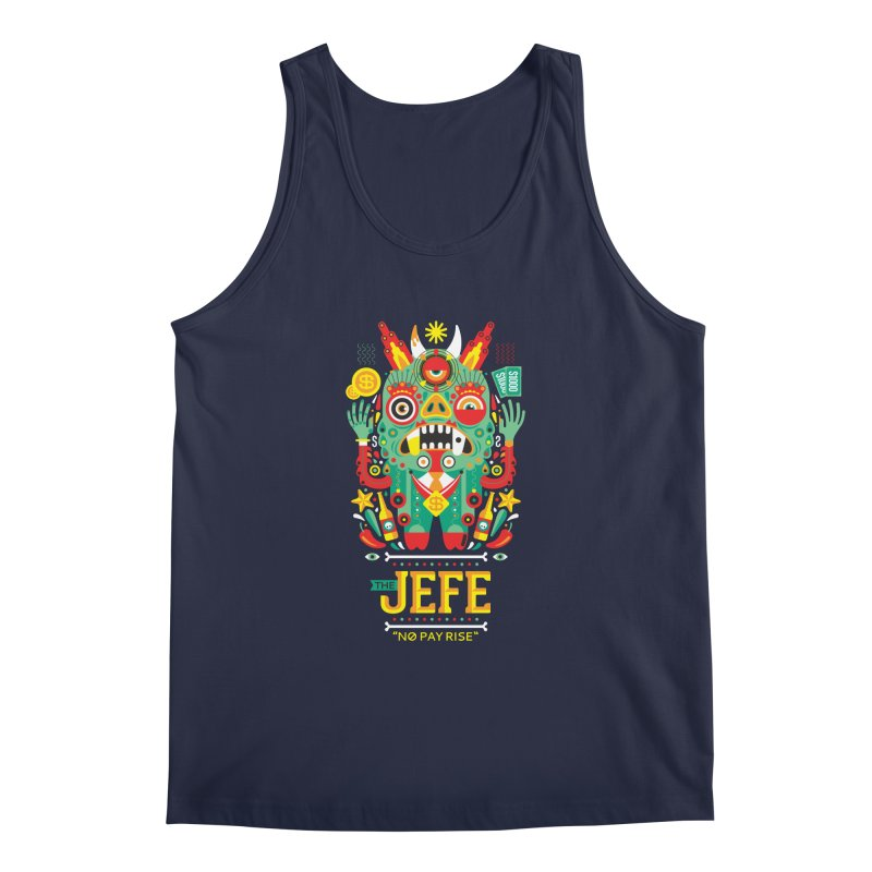 The Jefe Men's Tank by chamuko's Artist Shop