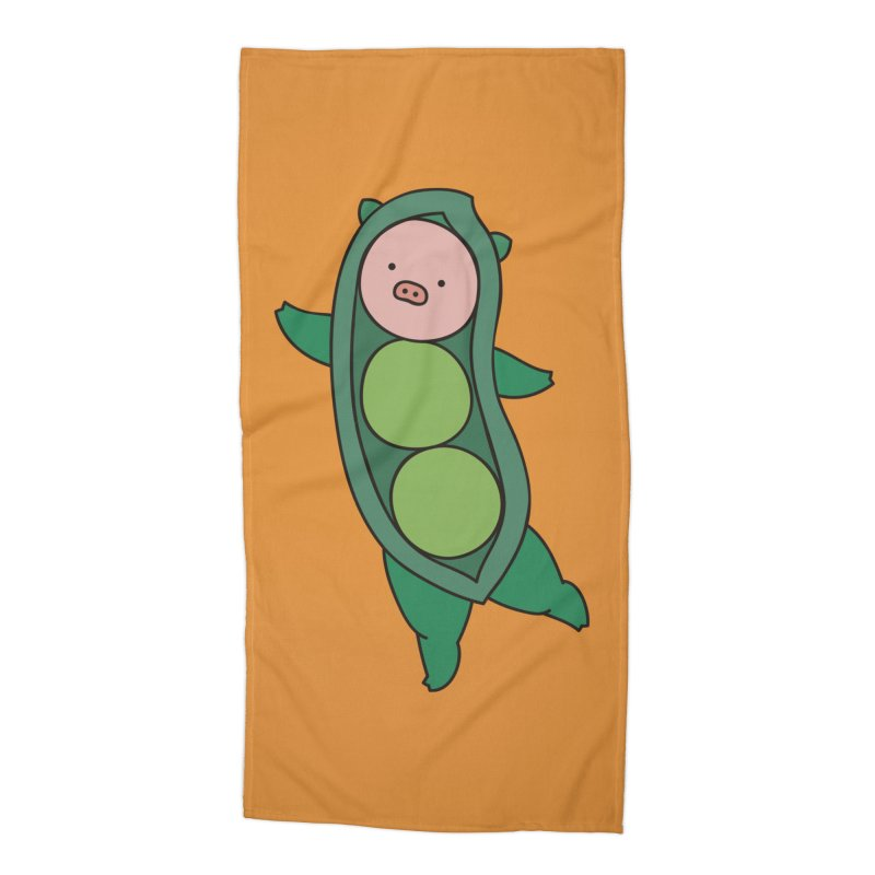 Piggy Pea Tomato Accessories Beach Towel