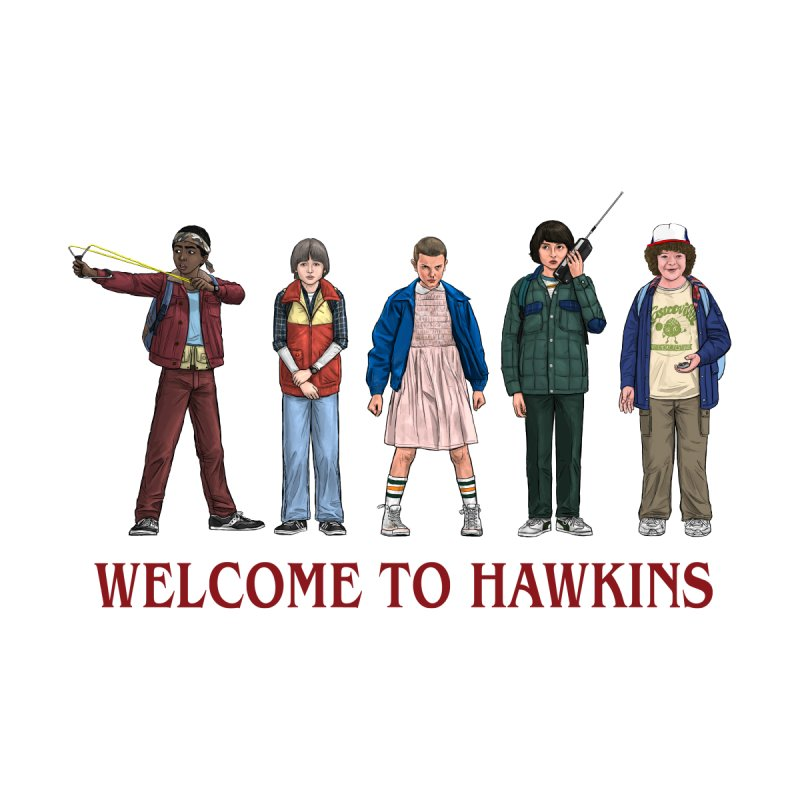 WELCOME TO HAWKINS - Stranger Things Season One 2016 by Preserved Dragons