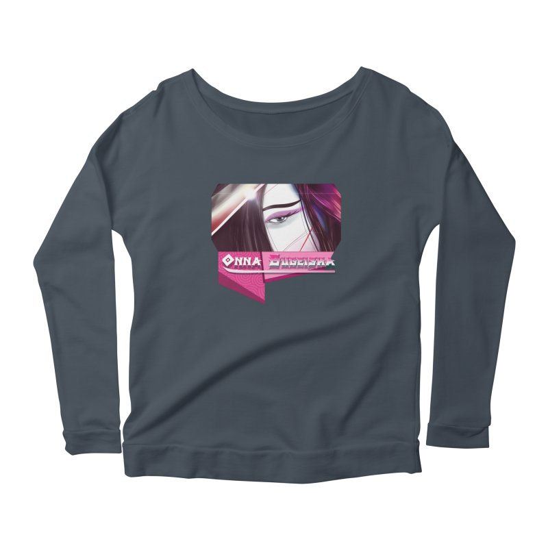 Onna Bugeisha Women's Scoop Neck Longsleeve T-Shirt by Character Issues Shop