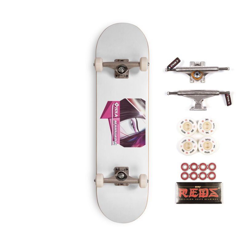 Onna Bugeisha Accessories Complete - Pro Skateboard by Character Issues Shop
