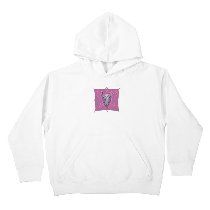 Moon Owl Kids Pullover Hoody by Character Issues Shop