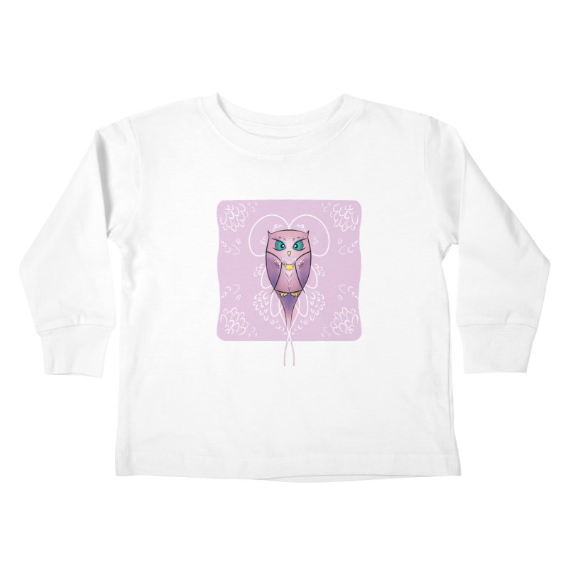 Petite Owl Kids Toddler Longsleeve T-Shirt by Character Issues Shop