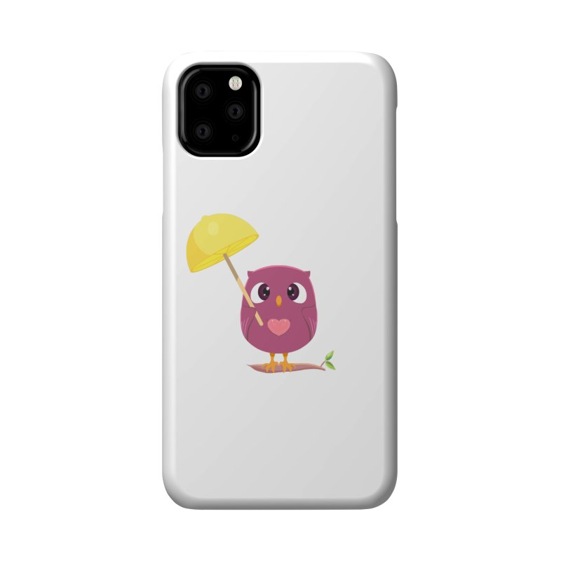 Lemon-brella Owl Accessories Phone Case by Character Issues Shop