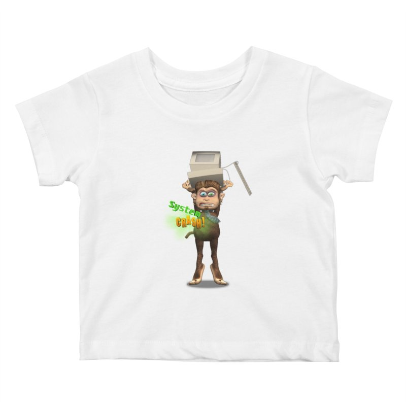 System Crash Kids Baby T-Shirt by Character Issues Shop