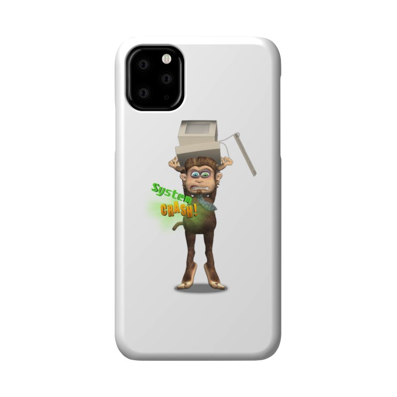 System Crash Accessories Phone Case by Character Issues Shop