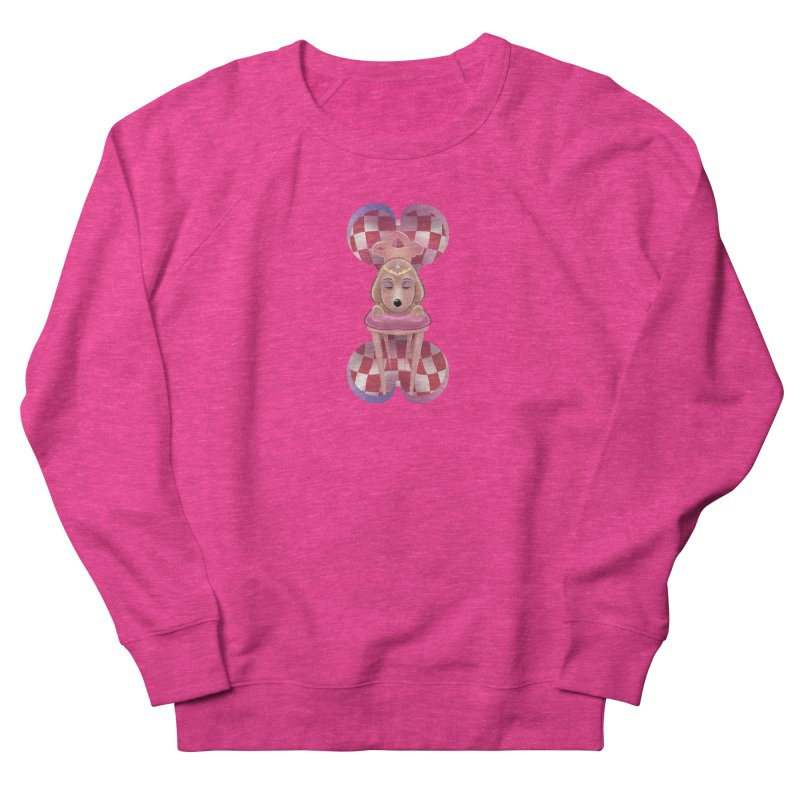 Puppy Sphinx Women's French Terry Sweatshirt by Character Issues Shop