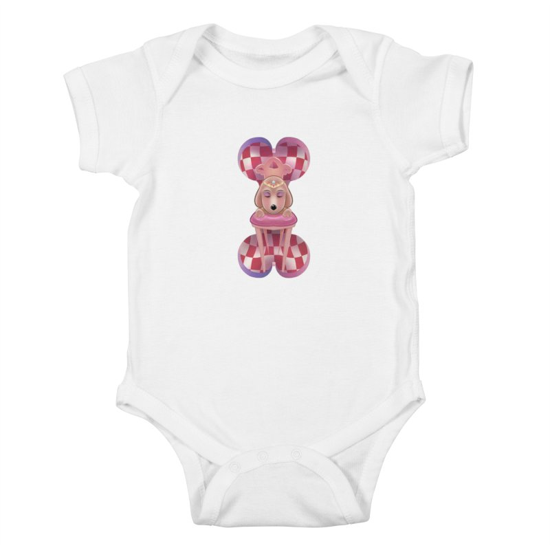 Puppy Sphinx Kids Baby Bodysuit by Character Issues Shop