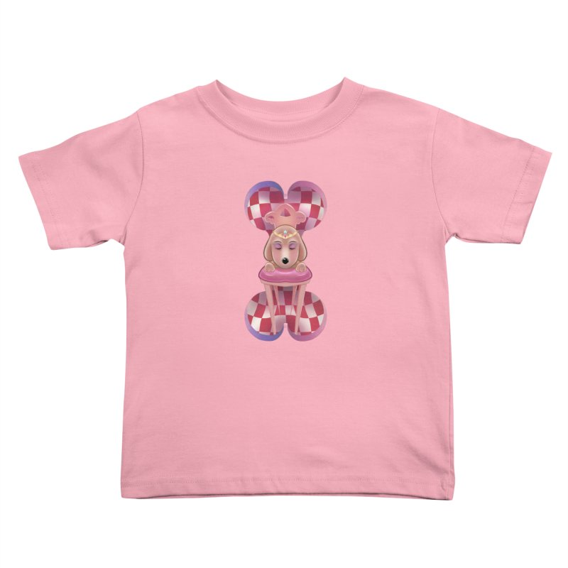 Puppy Sphinx Kids Toddler T-Shirt by Character Issues Shop