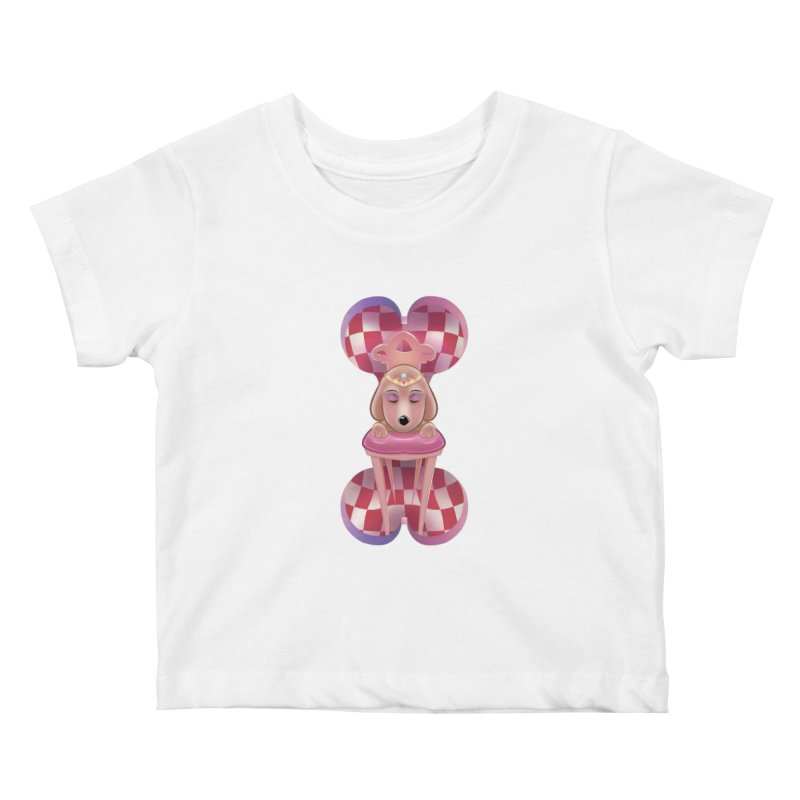 Puppy Sphinx Kids Baby T-Shirt by Character Issues Shop