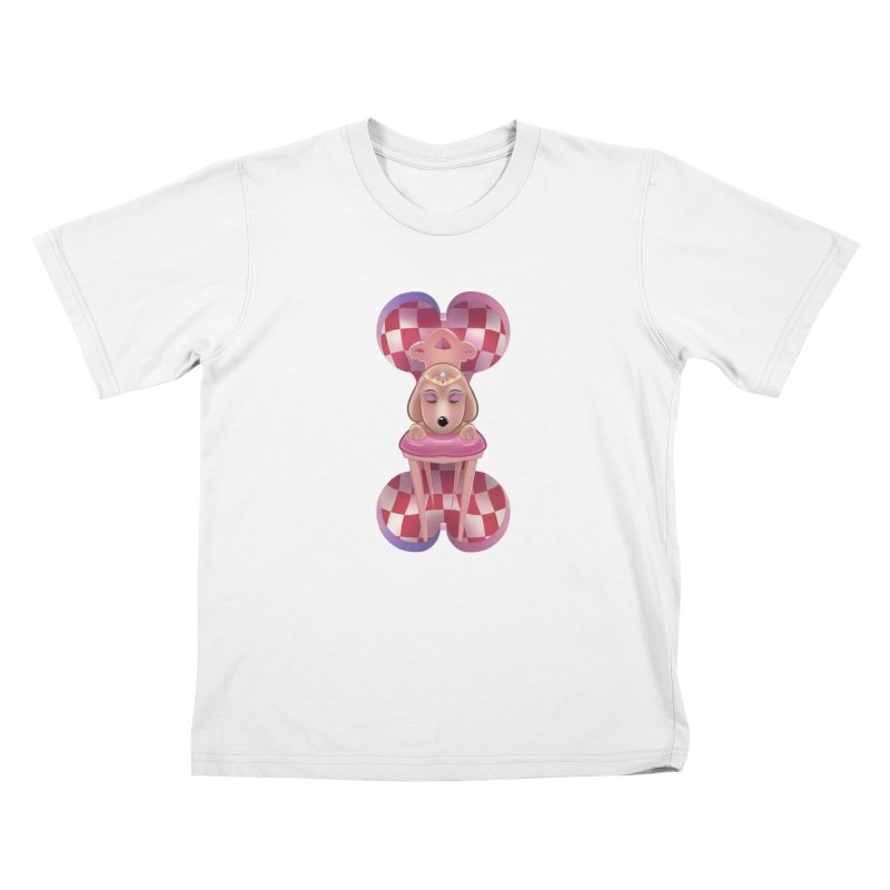 Puppy Sphinx Kids T-Shirt by Character Issues Shop