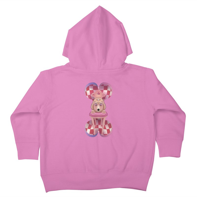 Puppy Sphinx Kids Toddler Zip-Up Hoody by Character Issues Shop