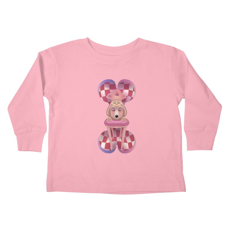 Puppy Sphinx Kids Toddler Longsleeve T-Shirt by Character Issues Shop