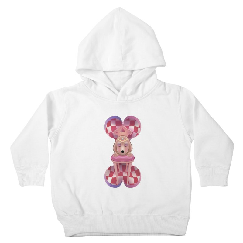 Puppy Sphinx Kids Toddler Pullover Hoody by Character Issues Shop