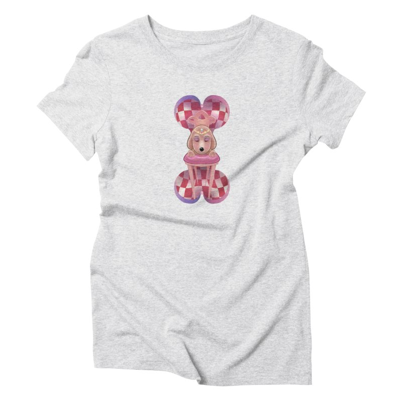 Puppy Sphinx Women's Triblend T-Shirt by Character Issues Shop