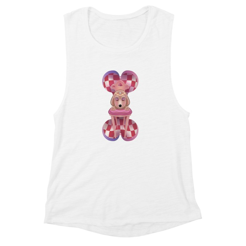 Puppy Sphinx Women's Muscle Tank by Character Issues Shop
