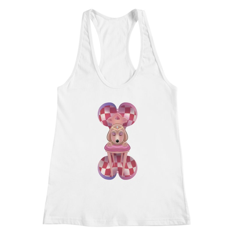 Puppy Sphinx Women's Racerback Tank by Character Issues Shop