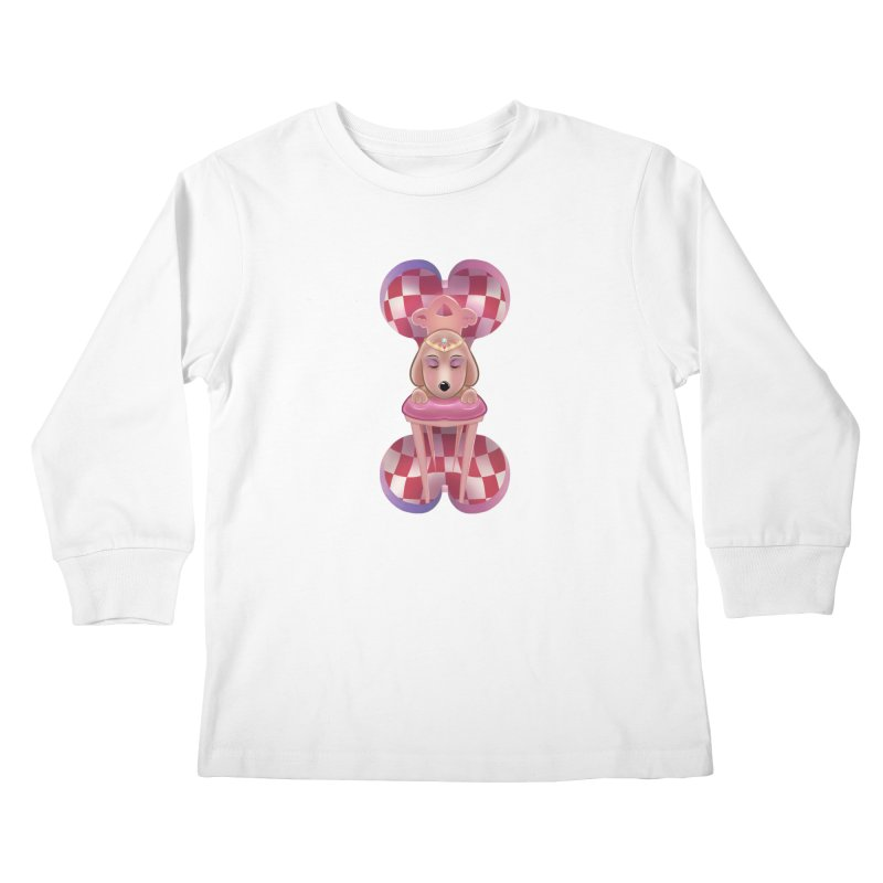 Puppy Sphinx Kids Longsleeve T-Shirt by Character Issues Shop