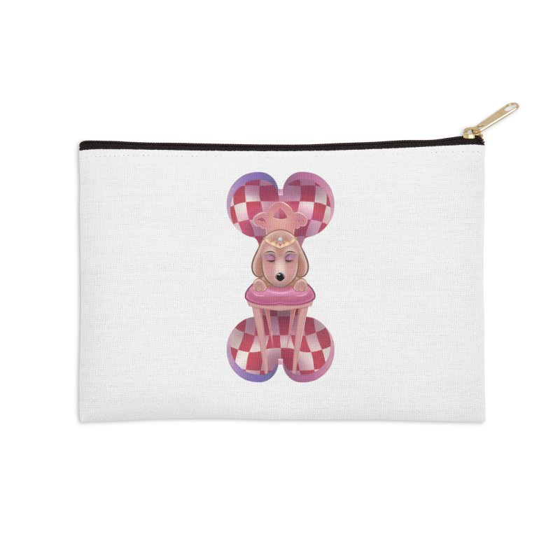Puppy Sphinx Accessories Zip Pouch by Character Issues Shop