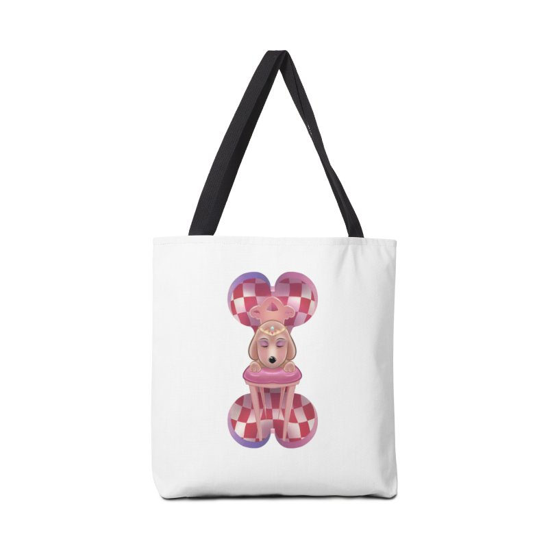 Puppy Sphinx Accessories Tote Bag Bag by Character Issues Shop