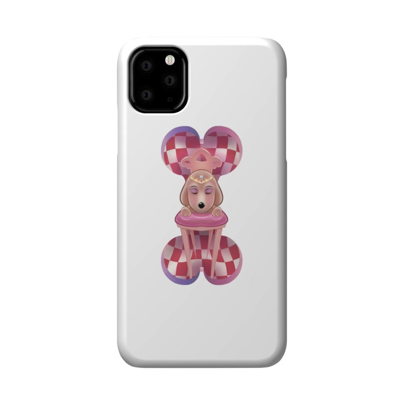 Puppy Sphinx Accessories Phone Case by Character Issues Shop