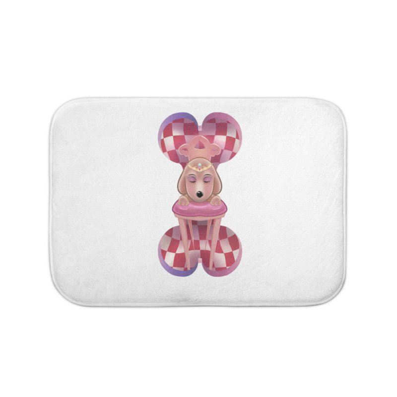 Puppy Sphinx Home Bath Mat by Character Issues Shop