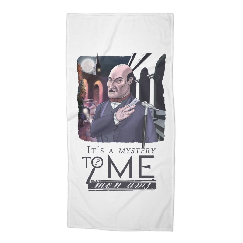 Mystery to Me Accessories Beach Towel by Character Issues Shop