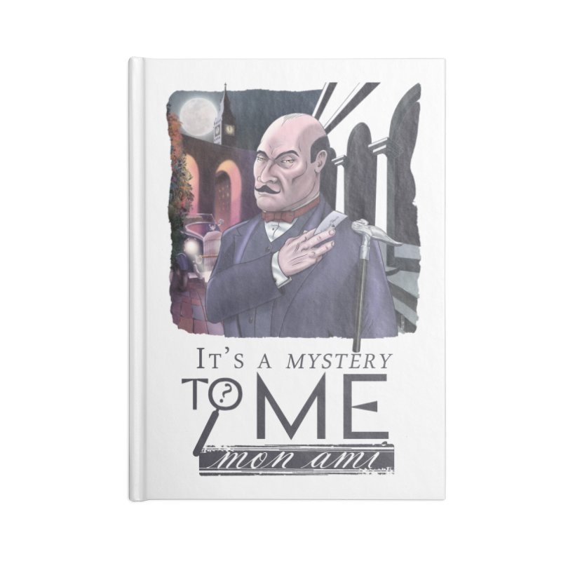 Mystery to Me Accessories Lined Journal Notebook by Character Issues Shop