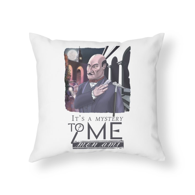 Mystery to Me Home Throw Pillow by Character Issues Shop