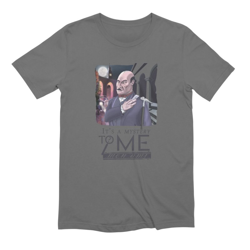 Mystery to Me Men's T-Shirt by Character Issues Shop
