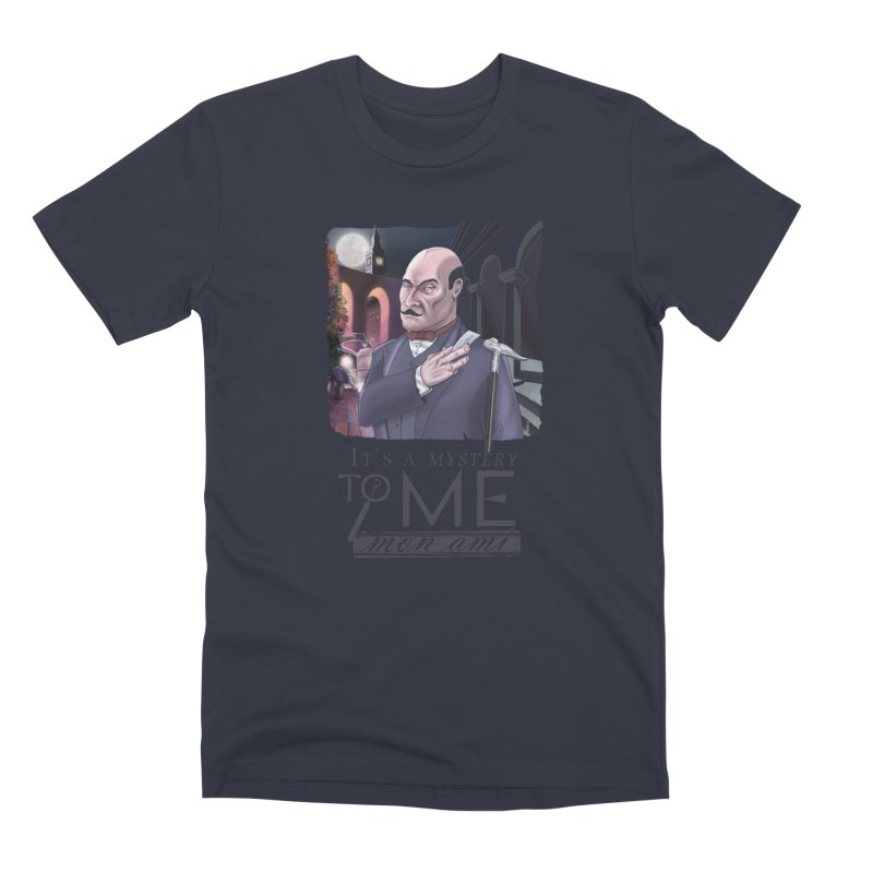 Mystery to Me Men's Premium T-Shirt by Character Issues Shop