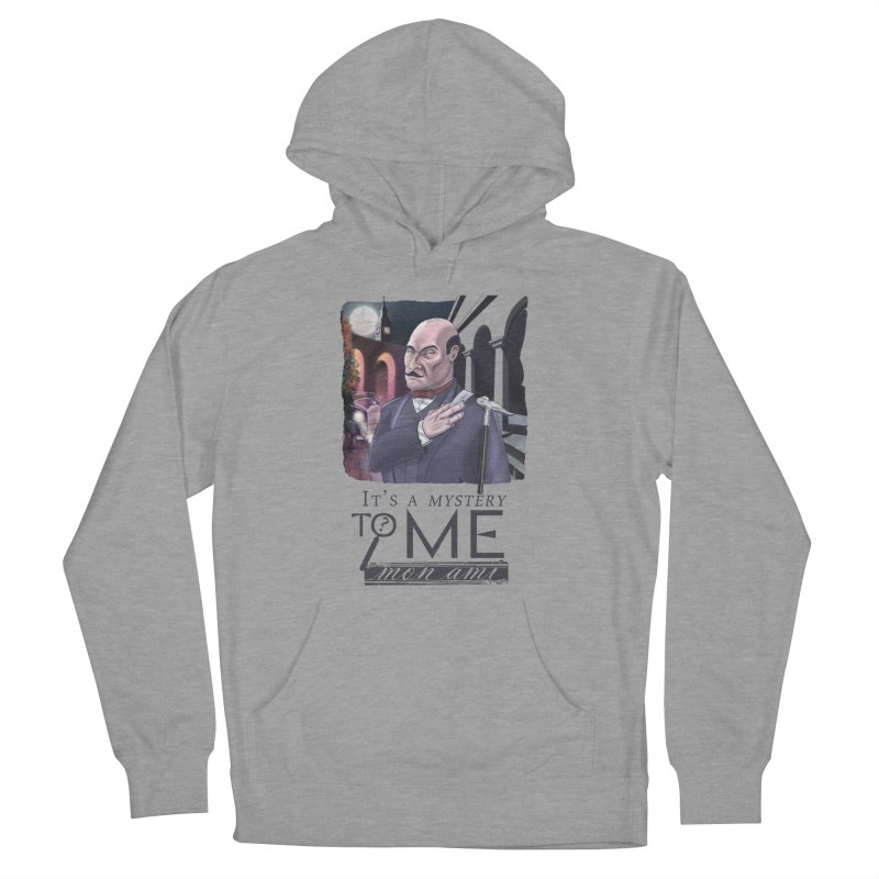 Mystery to Me Men's French Terry Pullover Hoody by Character Issues Shop