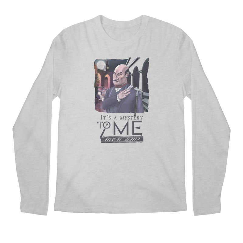Mystery to Me Men's Regular Longsleeve T-Shirt by Character Issues Shop