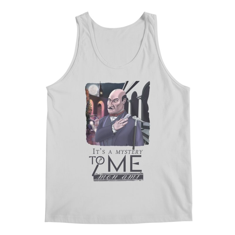 Mystery to Me Men's Regular Tank by Character Issues Shop