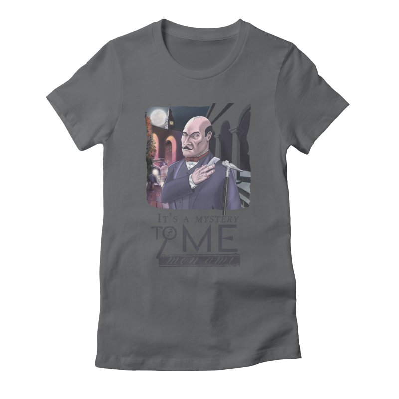 Mystery to Me Women's Fitted T-Shirt by Character Issues Shop