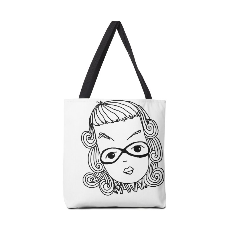 Fly Away Girl Accessories Bag by charcoalram's Artist Shop