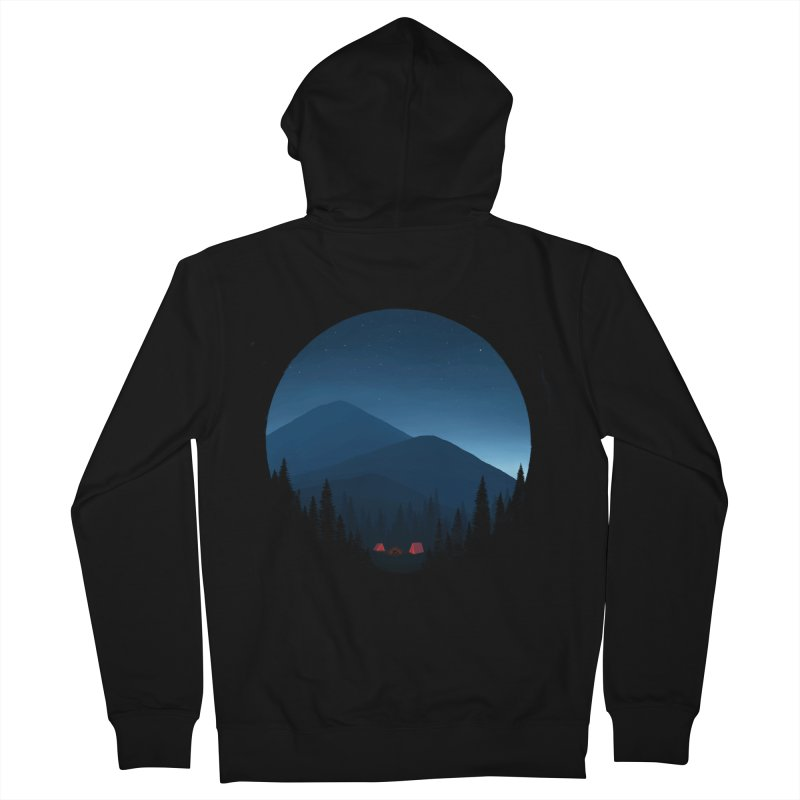 dawn Men's Zip-Up Hoody by art by chardablob