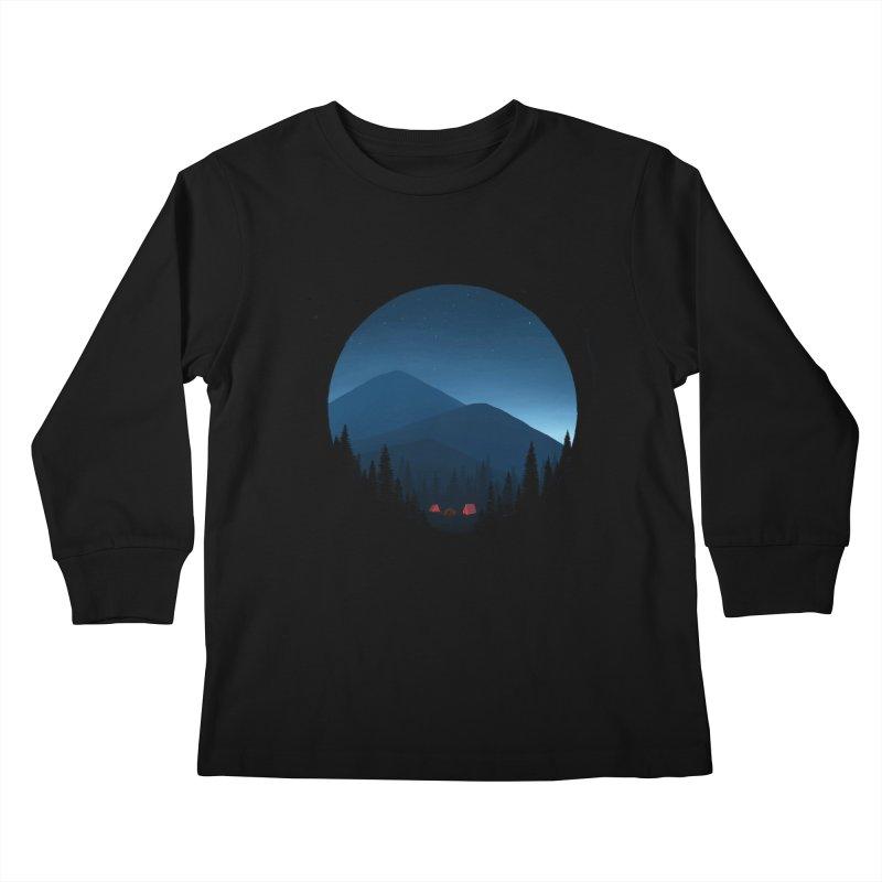 dawn Kids Longsleeve T-Shirt by art by chardablob