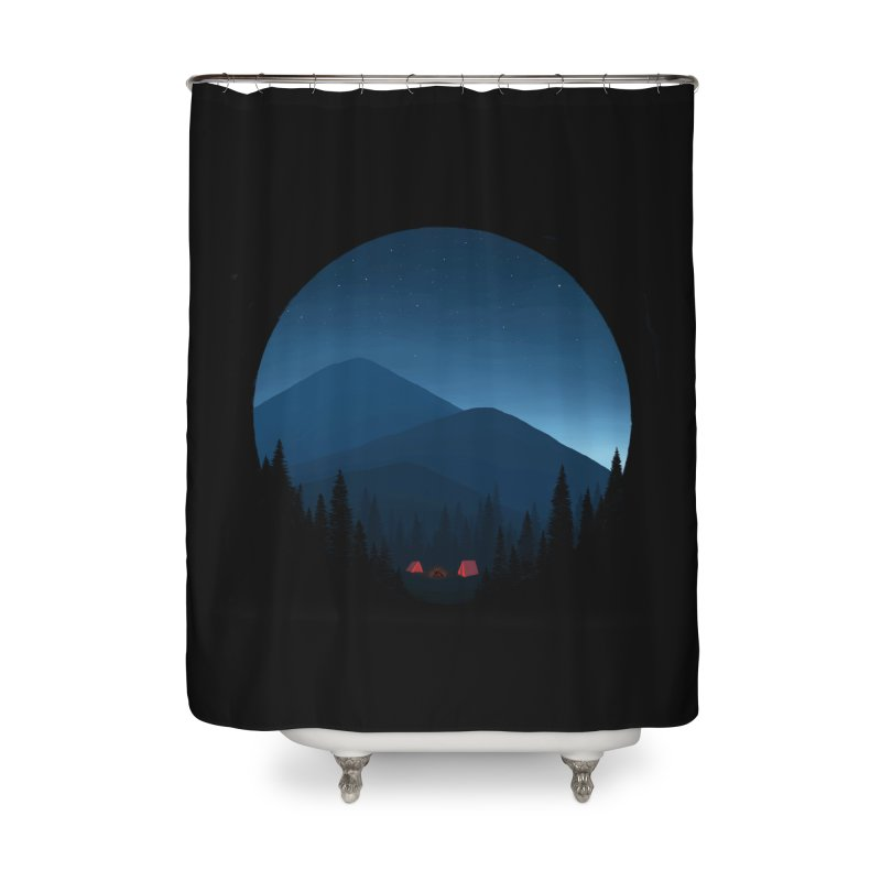 dawn Home Shower Curtain by art by chardablob