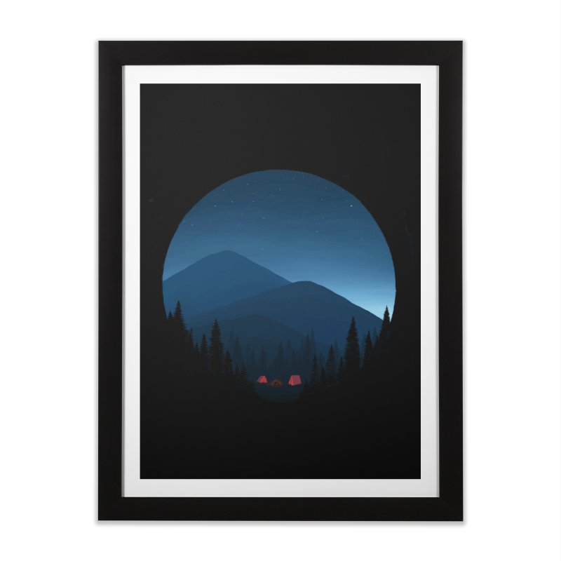 dawn Home Framed Fine Art Print by art by chardablob