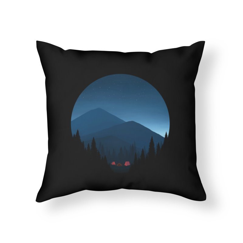 dawn Home Throw Pillow by art by chardablob