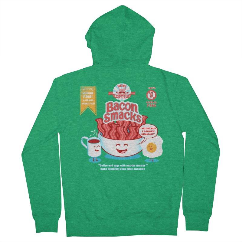 Bacon Smacks Women's Zip-Up Hoody by Charity Ryan